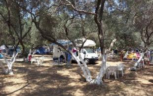 campsite chania crete
