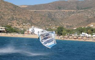windsurf in heraklion crete