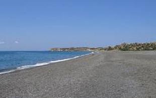 campsite south crete