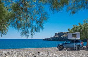 roof tent crete rental tripiti beach
